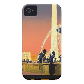 Vintage Travel Paris France iPhone 4 Case