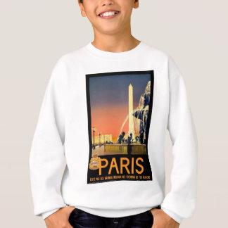 Vintage Travel Paris France Sweatshirt