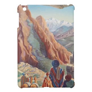 Vintage Travel Peru iPad Mini Cover