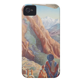 Vintage Travel Peru iPhone 4 Case