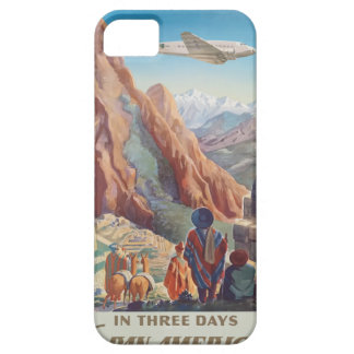 Vintage Travel Peru iPhone 5 Cases