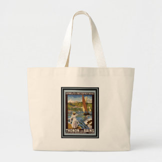 Vintage Travel Poster 35 Canvas Bags