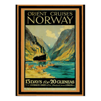 Vintage Travel Poster 37 Postcard