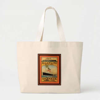 Vintage Travel Poster 49 Canvas Bags