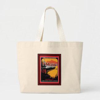 Vintage Travel Poster 59 Large Tote Bag