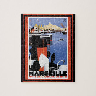 Vintage Travel Poster 60 Jigsaw Puzzle