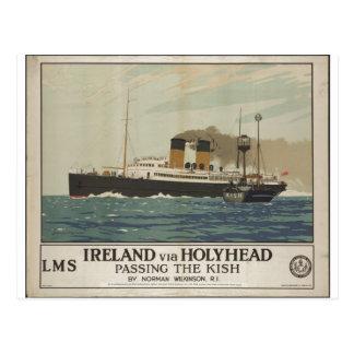 Vintage Travel Poster Ad Retro Prints Post Card