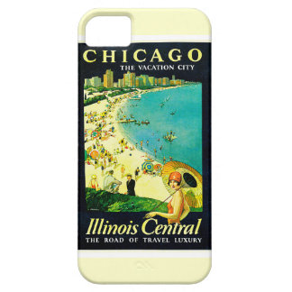 Vintage Travel Poster, Chicago, Illinois iPhone 5 Case