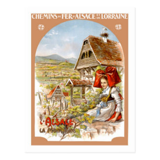 Vintage Travel Poster,France Postcard