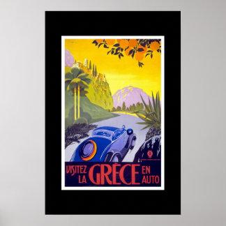 Vintage Travel Poster Greece 2