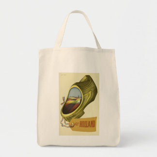 Vintage Travel Poster Holland  ,  Tote Bag