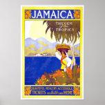 Vintage Travel Poster Jamaica