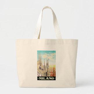 Vintage Travel Poster Milano, Italy Bag