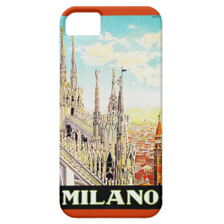 Vintage Travel Poster Milano, Italy Case For The iPhone 5