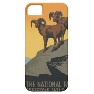 Vintage Travel Poster National Parks America USA Case For The iPhone 5