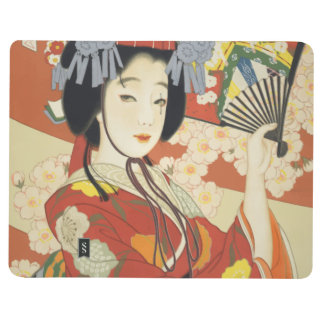 Vintage Travel Poster Osaka Japan Journal