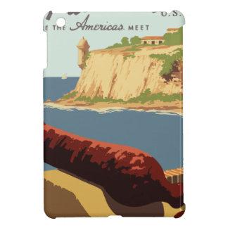 Vintage Travel Poster Puerto Rico iPad Mini Cases