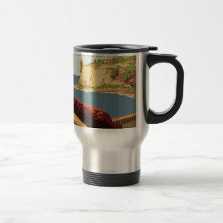 Vintage Travel Poster Puerto Rico Travel Mug