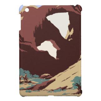 Vintage Travel Poster Southwest America USA iPad Mini Case