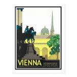 Vintage Travel Poster,Vienna Post Card