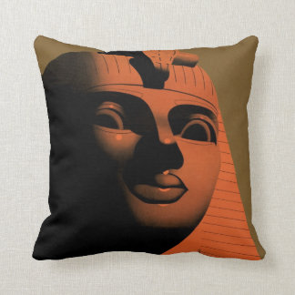 Vintage Travel Poster with Sphinx, Egypt, Africa Cushion