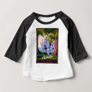 Vintage Travel Puerto Rico Baby T-Shirt