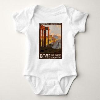 Vintage Travel Rome Italy 1920 Baby Bodysuit