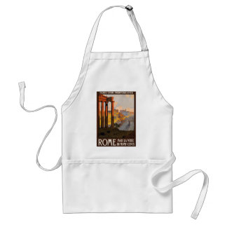 Vintage Travel Rome Italy 1920 Standard Apron