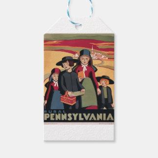 Vintage Travel Rural Pennsylvania Gift Tags