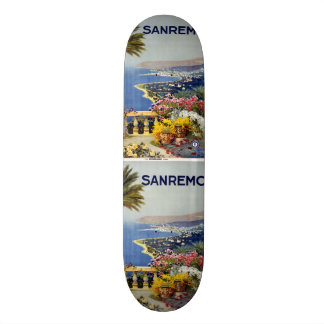 Vintage Travel Sanremo Italy skateboards