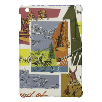 Vintage Travel South Dakota USA Case For The iPad Mini