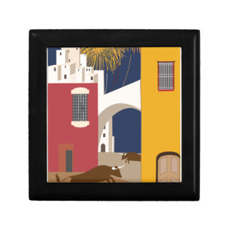 Vintage Travel Spain Gift Box