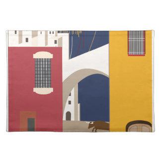 Vintage Travel Spain Placemat