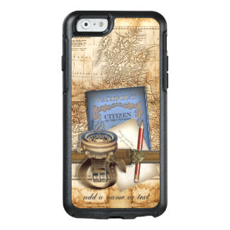 Vintage Travel Steampunk Style OtterBox iPhone 6/6s Case