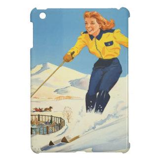 Vintage Travel Sun Valley Idaho iPad Mini Cover