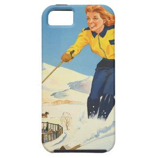 Vintage Travel Sun Valley Idaho Tough iPhone 5 Case
