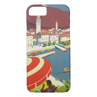 Vintage Travel Switzerland iPhone 7 Case