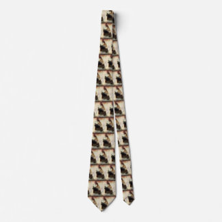 Vintage Travel Transportation Cruise Ship at Sea Tie