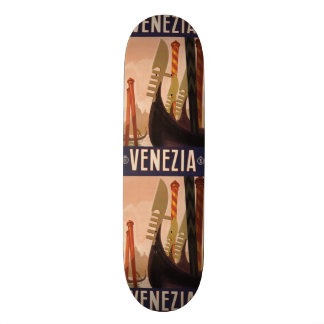 Vintage Travel Venice Italy skateboards