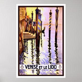 Vintage travel,Venice Poster