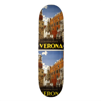 Vintage Travel Verona Italy skateboards