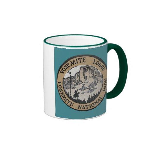 Vintage Travel - Yosemite Mugs