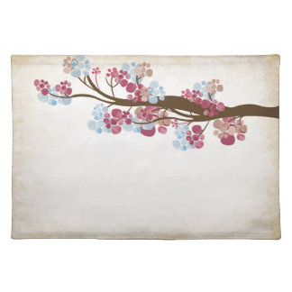 Vintage tree American MoJo Placemat