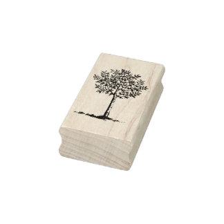 Vintage Tree Rubber Stamp