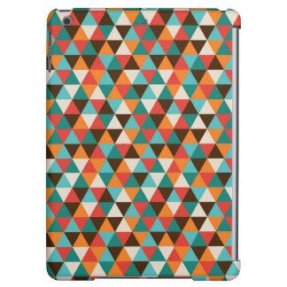 Vintage triangle pattern iPad Air case