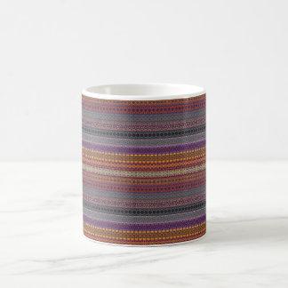 Vintage tribal aztec pattern coffee mug
