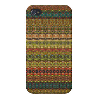 Vintage tribal aztec pattern cover for iPhone 4