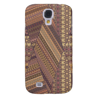 Vintage tribal aztec pattern galaxy s4 case
