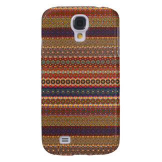 Vintage tribal aztec pattern galaxy s4 cover