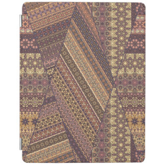 Vintage tribal aztec pattern iPad cover